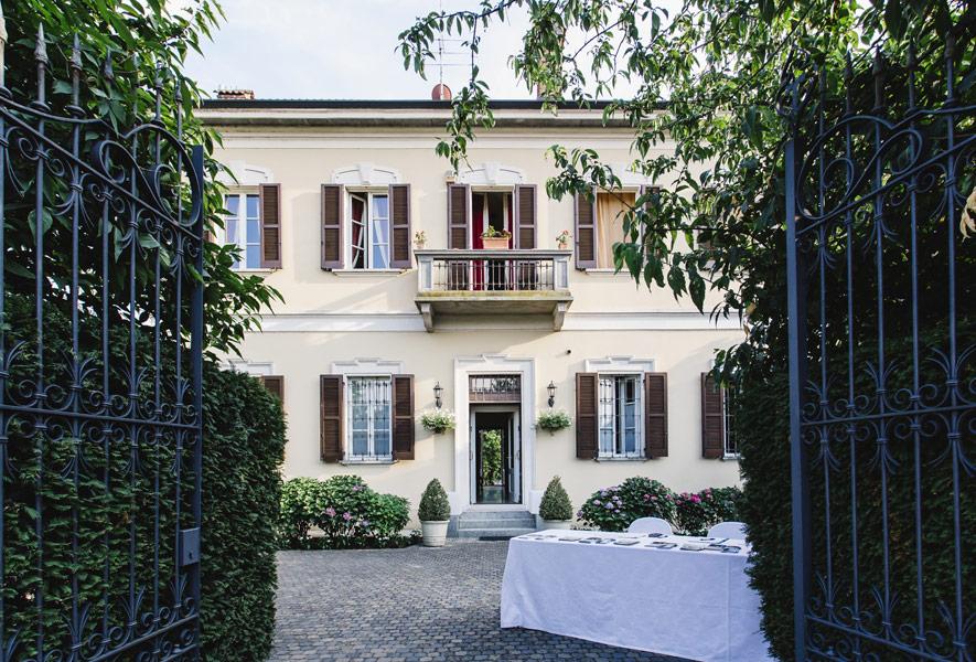 Ingresso Villa Umberto eventi privati e ricorrenze