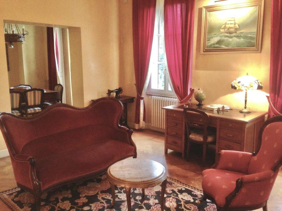 Appartamento della sposa per matrimoni in Villa Umberto