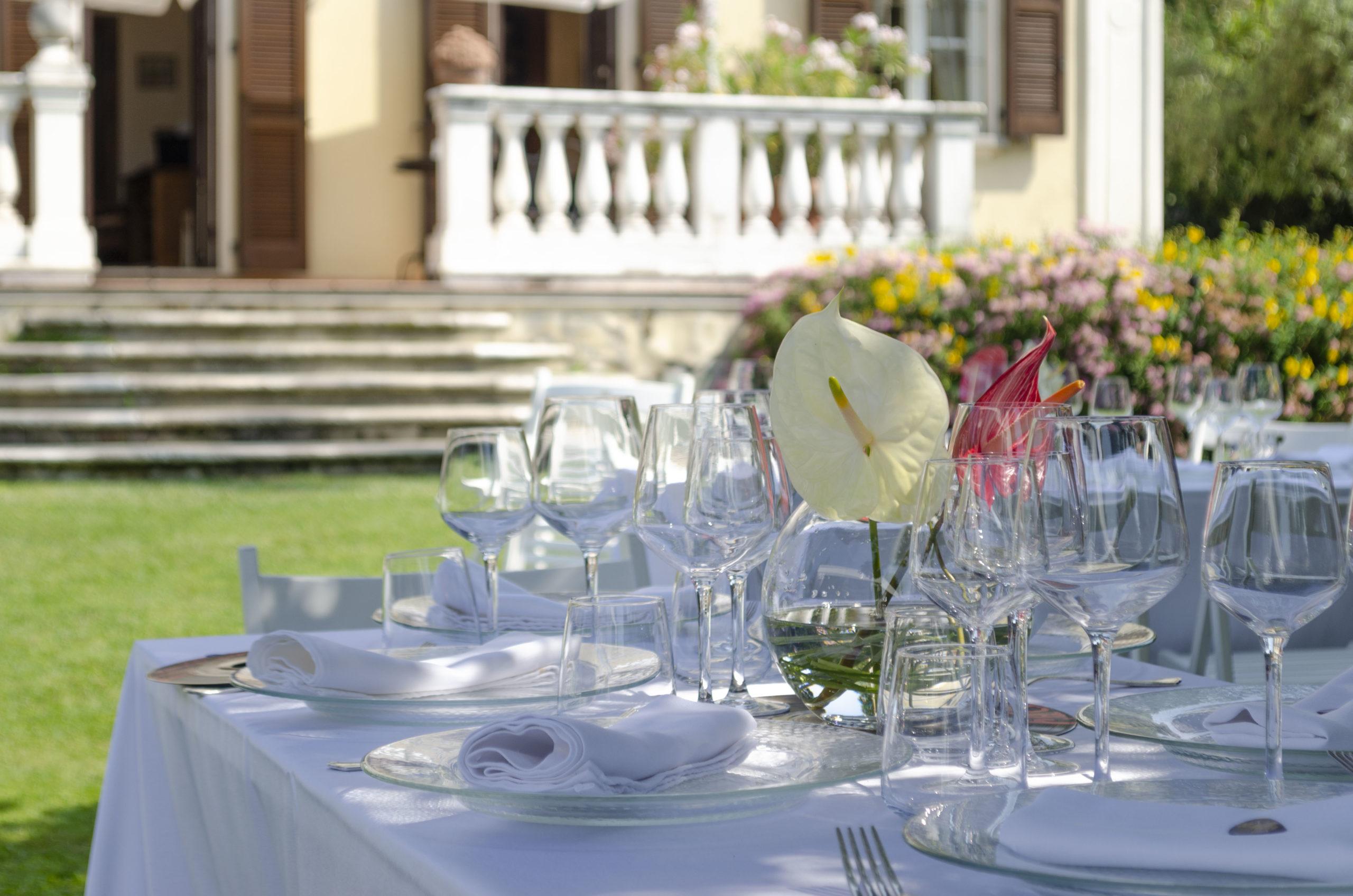 Tavolo matrimonio Villa Umberto