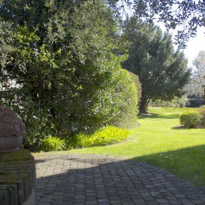 Il giardino di Villa Umberto