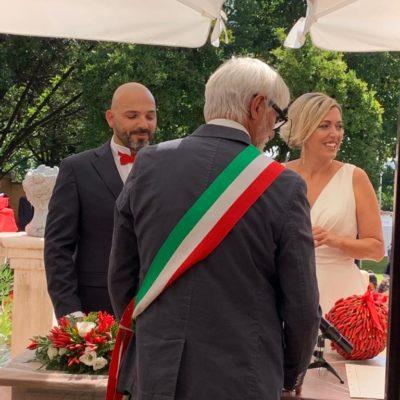 Celebrazione Matrimonio Villa Umberto