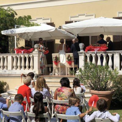 Matrimonio in Villa Umberto